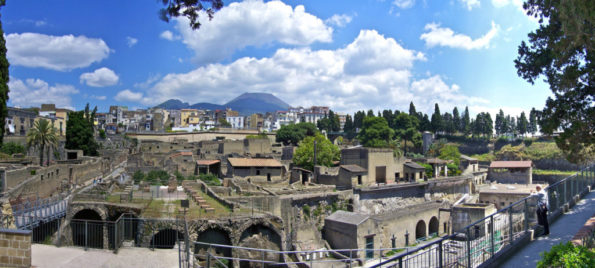 Shore Excursion: Private Full Day Tour of Pompeii, Herculaneum and Mount Vesuvius from Naples center or Cruise Port